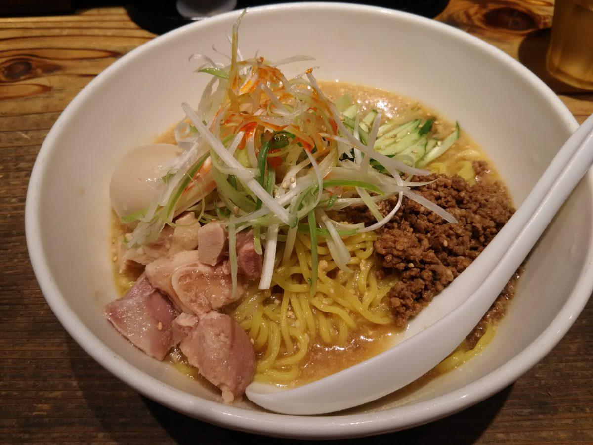 桜木屋では、冷やし担々麺が始まっています。